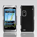 Custodia Nokia E7 Plastica Cover Rigida Guscio - Nero