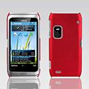 Custodia Nokia E7 Plastica Cover Rigida Guscio - Rosso