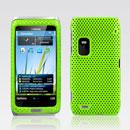 Custodia Nokia E7 Rete Cover Rigida Guscio - Verde