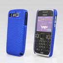 Custodia Nokia E72 Rete Cover Rigida Guscio - Blu