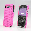 Custodia Nokia E72 Rete Cover Rigida Guscio - Fucsia