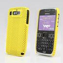 Custodia Nokia E72 Rete Cover Rigida Guscio - Giallo