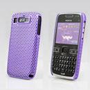 Custodia Nokia E72 Rete Cover Rigida Guscio - Porpora