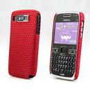 Custodia Nokia E72 Rete Cover Rigida Guscio - Rosso
