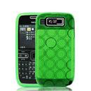 Custodia Nokia E72 TPU Silicone Case Gel - Verde