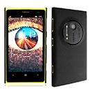 Custodia Nokia Lumia 1020 Plastica Cover Rigida Guscio - Nero