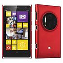 Custodia Nokia Lumia 1020 Plastica Cover Rigida Guscio - Rosso
