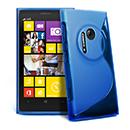Custodia Nokia Lumia 1020 S-Line Silicone Bumper - Blu