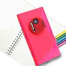 Custodia Nokia Lumia 1020 S-Line Silicone Bumper - Fucsia