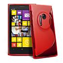 Custodia Nokia Lumia 1020 S-Line Silicone Bumper - Rosso