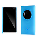 Custodia Nokia Lumia 1020 Ultrasottile Plastica Cover Rigida Guscio - Blu