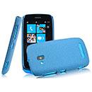 Custodia Nokia Lumia 610 Sabbie Mobili Cover Bumper - Blu