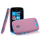 Custodia Nokia Lumia 610 Sabbie Mobili Cover Bumper - Rosso