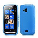 Custodia Nokia Lumia 610 Silicone Case - Blu