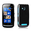 Custodia Nokia Lumia 610 Silicone Case - Nero