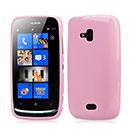 Custodia Nokia Lumia 610 Silicone Case - Rosa
