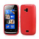 Custodia Nokia Lumia 610 Silicone Case - Rosso