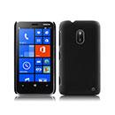 Custodia Nokia Lumia 620 Plastica Cover Rigida Guscio - Nero