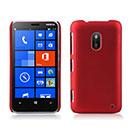 Custodia Nokia Lumia 620 Plastica Cover Rigida Guscio - Rosso
