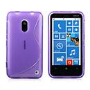 Custodia Nokia Lumia 620 S-Line Silicone Bumper - Porpora
