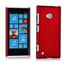 Custodia Nokia Lumia 720 Plastica Cover Rigida Guscio - Rosso