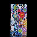 Custodia Nokia Lumia 800 Fiori Silicone Gel Case - Verde