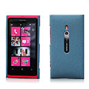 Custodia Nokia Lumia 800 Sabbie Mobili Cover Bumper - Blu