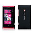 Custodia Nokia Lumia 800 Sabbie Mobili Cover Bumper - Nero