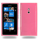 Custodia Nokia Lumia 800 Silicone Case - Rosa