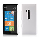 Custodia Nokia Lumia 900 Plastica Cover Rigida Guscio - Bianco