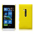 Custodia Nokia Lumia 900 Plastica Cover Rigida Guscio - Giallo