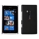 Custodia Nokia Lumia 900 Plastica Cover Rigida Guscio - Nero