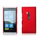 Custodia Nokia Lumia 900 Plastica Cover Rigida Guscio - Rosso