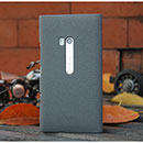 Custodia Nokia Lumia 900 Sabbie Mobili Cover Bumper - Grigio