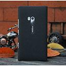 Custodia Nokia Lumia 900 Sabbie Mobili Cover Bumper - Nero