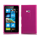 Custodia Nokia Lumia 900 Silicone Case - Fucsia