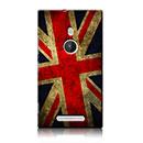 Custodia Nokia Lumia 925 La bandiera del Regno Unito Cover Rigida - Misto