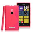 Custodia Nokia Lumia 925 S-Line Silicone Bumper - Fucsia