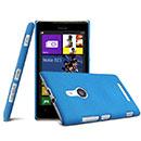 Custodia Nokia Lumia 925 Sabbie Mobili Cover Bumper - Blu