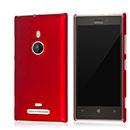 Custodia Nokia Lumia 925 Stars Plastica Cover Rigida - Rosso