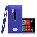 Custodia Nokia Lumia 928 Plastica Cover Rigida Guscio - Blu