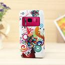 Custodia Nokia N8 Fiori Silicone Gel Case - Misto