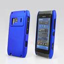 Custodia Nokia N8 Plastica Cover Rigida Guscio - Blu