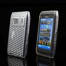 Custodia Nokia N8 TPU Diamante Silicone Case - Chiaro