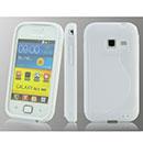 Custodia Samsung Galaxy Ace Duos S6802 S-Line Silicone Bumper - Bianco