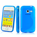 Custodia Samsung Galaxy Ace Duos S6802 S-Line Silicone Bumper - Blu