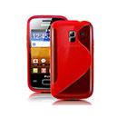 Custodia Samsung Galaxy Ace Duos S6802 S-Line Silicone Bumper - Rosso