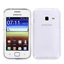 Custodia Samsung Galaxy Ace Duos S6802 Silicone Trasparente Case - Bianco