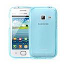 Custodia Samsung Galaxy Ace Duos S6802 Silicone Trasparente Case - Blu