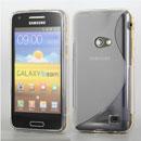 Custodia Samsung Galaxy Beam GT-i8530 S-Line Silicone Bumper - Bianco